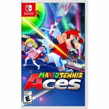 Mario Tennis Aces Nintendo Switch GAME SHIPS ON 6/22/18 new sealed pre-order