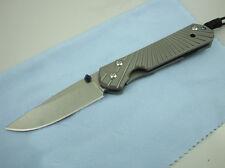 CNC D2 Blade Sebenza 21 Style Full TC4 TITANIUM Handle Folding knife DF01