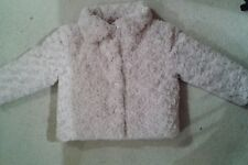 Girls Vintage Angels Soft Furry Coat age 5-6 years IMMACULATE!!