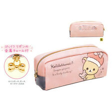 San-X Korilakkuma Pen Pouch Pencil Case Strawberry Pink (PY55901) 25C66