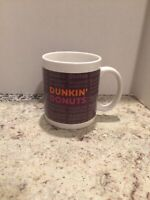 DUNKIN' DONUTS 11 OZ. CERAMIC COFFEE MUG Coffee, Muffins, Bagels Excellent