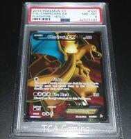 PSA 8 NM-MINT Charizard EX 100/106 XY FlashFire FULL ART Pokemon Card