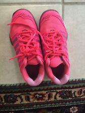 K-Swiss Hypercourt Vguc Girls Youth Size 2M Hot Pink Tennis Court Sneakers