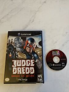 Judge Dredd: Dredd vs Death (GameCube, 2005) Box And Disc Only No Manual Tested
