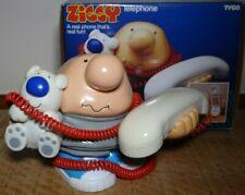 Rare Vintage 1990 Ziggy and Fuzz Phone Tyco Tom Wilson
