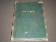 1950'S CIDADE E ARREDORES DO RIO DE JANEIRO BOOK - - KD 3950