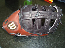 "WILSON A2K 2800 PRO STOCK (1B) FIRST BASE MITT/GLOVE A2KBBG2800 12"" RH $349.99"