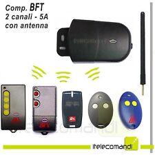 RICEVITORE RADIO RICEVENTE  2 CANALI 433 MHZ COMPATIBILE BFT
