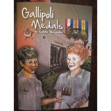 Gallipoli Medals Australian Anzac Day Education Childrens School Book WW1