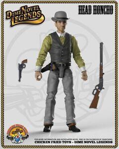 """Dime Novel Legends 1:18 scale (4"""") old west action figure Head Honcho"""