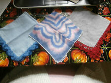 Lot of Vintage Women's Hankies or Handkerchiefs    -E