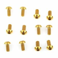 set Titanium Motorcycle Brake Lever Screws Bolts With Nut 1