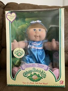 Cabbage Patch Kids Corn silk Doll - Leah - New In Box
