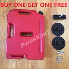 10L 2.6 Gallon Fuel Tank Jerry Can Spare Oil Can Jeep ATV UTV Gas Container Pack