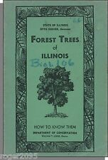 Forest Trees of Illinois: How to Know Them (1965) - Used Schoolbook        D