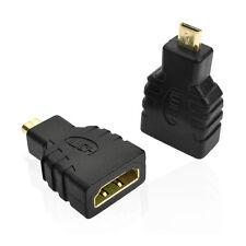 HDMI Femelle Vers Micro HDMI Mâle F/M Adaptateur Convertisseur Connecteur HD TV