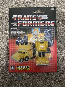 Hasbro Transformers G1 Vintage Bumblebee - Walmart exclusive reissue (2018)