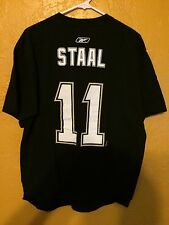 PITTSBURGH PENGUINS T SHIRT JORDAN STAAL LARGE