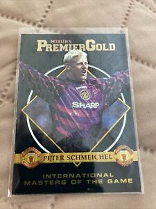 Peter Schmeichel Merlin's Premier Gold 96/97 International Masters of the Game