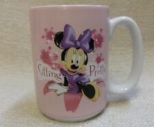 "Minnie Mouse ""Sitting Pretty"" Coffee Mug Disney Store Exclusive 4½"" Tall 1608144"