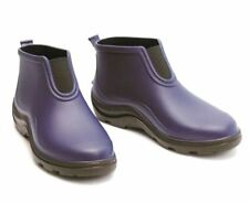 Flat (0 to 1/2 in.) Rubber Ankle Boots for Women