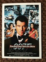 "James Bond limited Edition 9 card trading card set - 1997 ""Tomorrow Never Dies"""