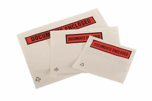 Docments Enclosed Wallets Printed or Plain A7 A5 DL Self Adhesive Envelopes