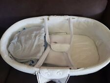 Moses Basket - as new baby bassinet