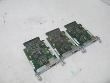 Lot of 3 Cisco WIC-1ENET 1 Port Ethernet WAN Interface Card