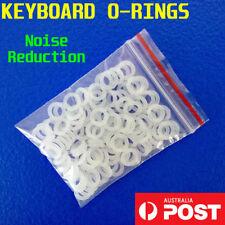 120 Mechanical Keyboard Keycap Rubber O-Ring Switch Dampeners Cherry MX Key Stem