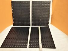 Fischertechnik       LOT of 4        BLACK BASE PLATES       260mm x 188mm