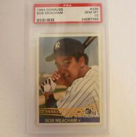 1984 Donruss #336 Bob Meacham Rookie New York Yankees PSA 10