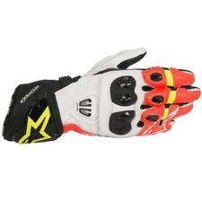 Alpinestars GP Pro R2 Sporthandschuh schwarz / weiß / rot / fluo-gelb