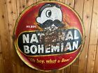 Vintage Large National Bohemian Beer Sign - Rare Breweriana