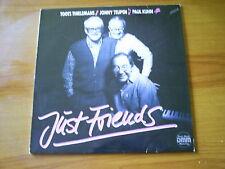 TOOTS THIELEMANS/JONNY TEUPEN/PAUK KUHN Just friends GERMAN LP JAZLINE 1986