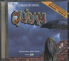 Quidam-2001-Cirque Du Soleil-14 Track-Enhanced CD