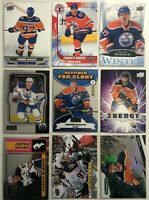 Connor Mcdavid 9 Card Lot Upper Pure Energy Edmonton Oilers Canada's Rookies