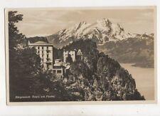 Buergenstock Hotels Mit Pilatus Switzerland RP Postcard Goetz 467b