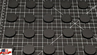 Pack of 20, 32 mm Plastic Round Bases Miniature Wargames Table Top Gaming 40k