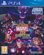 Marvel vs Capcom Infinite PS4 English Português Español Deutsch Japanese Chinese