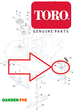 Genuine TORO Timemaster 20975 20977 Cutter Deck TENDICATENA PULEGGIA 120-7082 825
