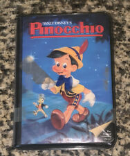"Walt Disney's PINOCCHIO BETA VIDEOCASSETTE ""BLACK DIAMOND"" Black Clamshell"