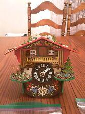 Gebruder Kuner Cuckoo Clock For Parts And Or Repair Rare Model