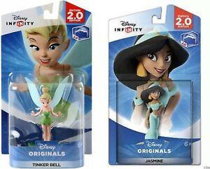 Disney Infinity: Disney Originals (2.0 Edition) Tinker Bell & Jasmine Figure NEW