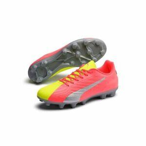 Puma ONE 20.4 HG OSG Men's Hard Ground Football Boots 6701 Yellow UK Size 7