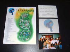 MICHAEL JACKSON NEVERLAND RANCH INVITATION + SITE MAP + PHOTO!