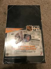 Sealed NHL Pro Set Les Cartes Des Pros Du Hockey Edition Francaise 36 paquets