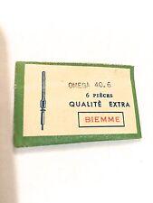 2 Tige Winding stem Aufzugwelle Albero di carica OMEGA 40.6