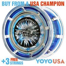 [SPRING SALE] YoYoFactory FAST/F.A.S.T. 201 Yo-Yo - Blue + STRINGS