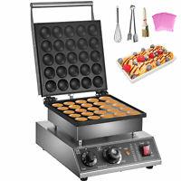 VEVOR Mini Dutch Pancake Maker Poffertjes Machine for 25PCs Mini Round Pancakes